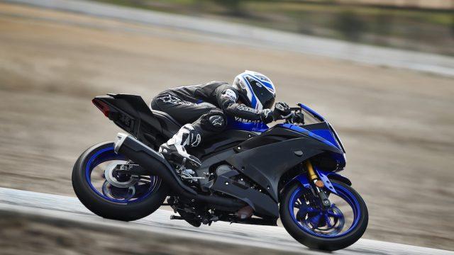 2019 Yamaha YZF R125 EU Yamaha_Blue Action 003