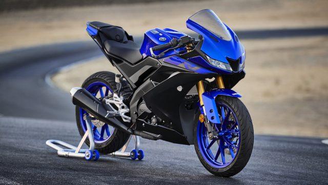2019 Yamaha YZF R125 EU Yamaha_Blue Static 002
