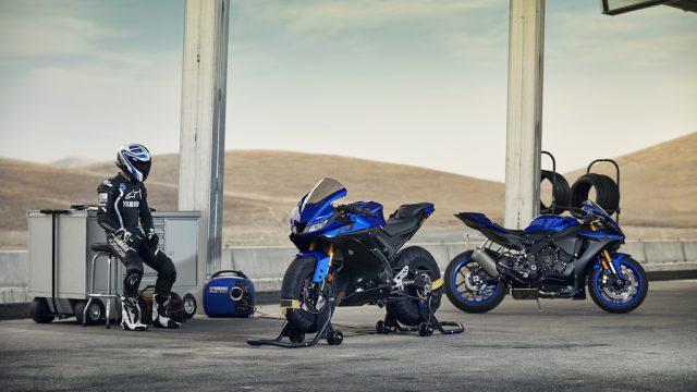 2019 Yamaha YZF R125 EU Yamaha_Blue Static 009