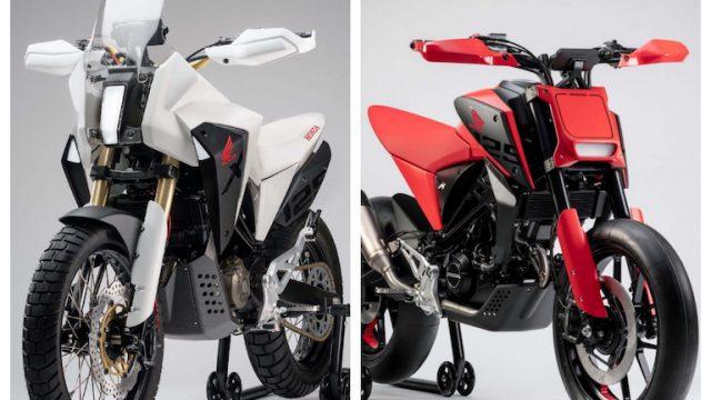 Eicma 2018: Honda CB125X and CB124M concepts 1