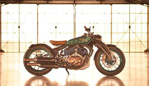 Royal Enfield Concept KX V-Twin - Stunning Design 2