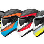 Schuberth C4 Pro Preview - Bold Colors and Nuviz HUD Set 2