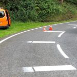 New road markings for motorcyclists. What do you think? 4