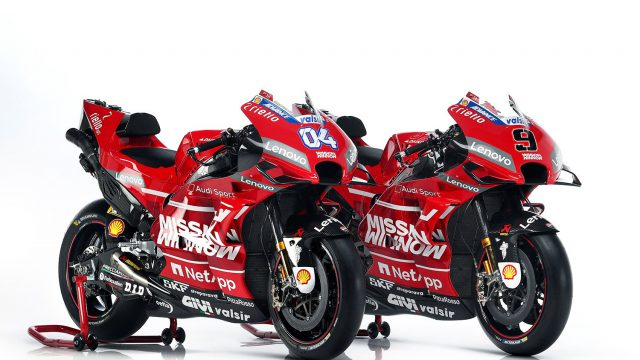 Ducati goes all red for 2019 MotoGP season 9