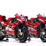 Ducati goes all red for 2019 MotoGP season 3