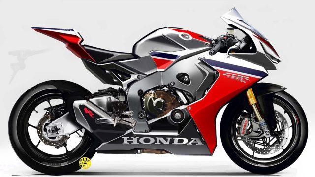 The new Honda Fireblade might feature V-TEC 23