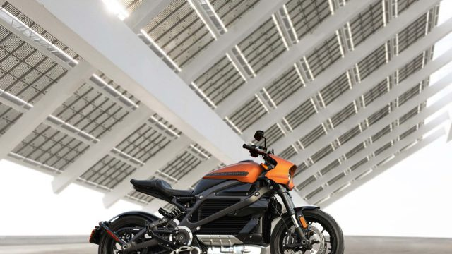 Harley Davidson Livewire orange 03