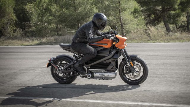 Harley Davidson Livewire orange 04