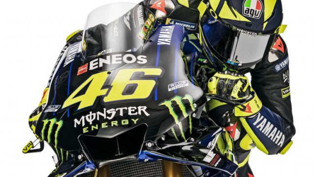 This is Valentino Rossi's Yamaha for 2019 15