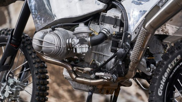 BMW GS Custom engine