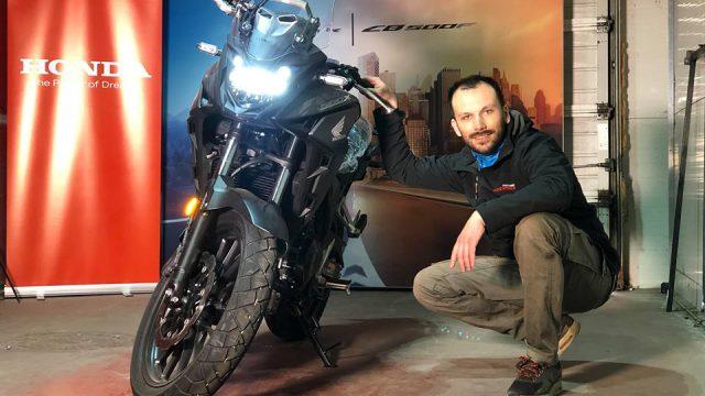 2019 Honda CB500X - Unboxing and Engine Start 2