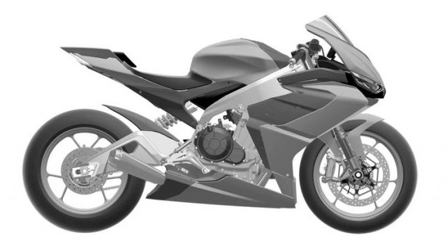 Design Sketches for the Aprilia RS 660 Look Sweet 4