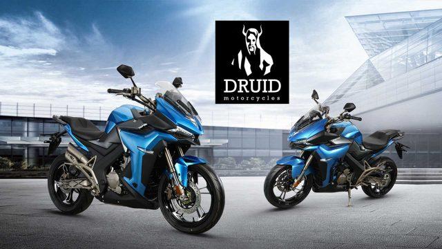 Druid Prepares a Hybrid Motorcycle 1