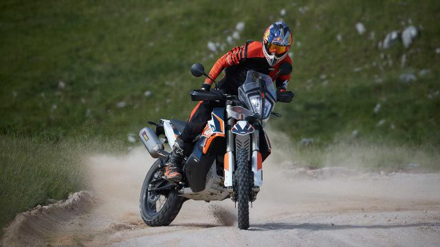 KTM 790 Adventure R Goes Rally 1