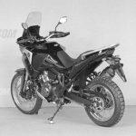 2020 Honda Africa Twin: Tubeless Tires, TFT Dash 3