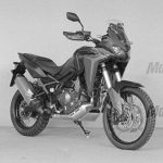 2020 Honda Africa Twin: Tubeless Tires, TFT Dash 4