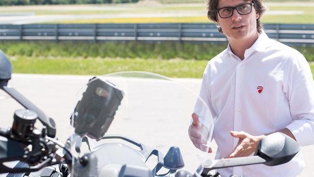 Pierluigi Zampieri Vehicle Innovation Manager at Ducati Motor Holding_UC66583_Low