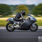 Guy Martin - 434 km/h [270 mph] on a 830 hp Hayabusa 2