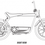 Harley-Davidson Electric Scooter heading for production. Here are the design sketches 11