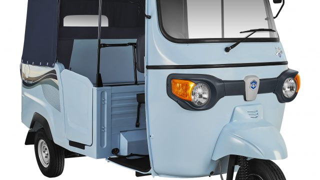 Piaggio Ape turns electric. Meet the Ape E-city 1