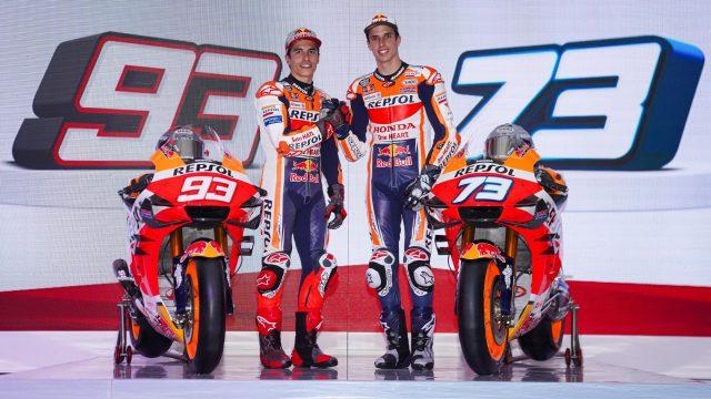 2020 Honda MotoGP. Here's the new bike 1