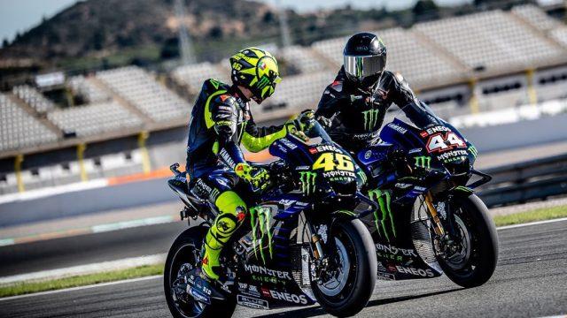 Valentino Rossi vs. Lewis Hamilton. The Ride Swap 1
