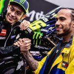 Valentino Rossi vs. Lewis Hamilton. The Ride Swap 12