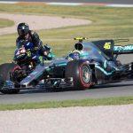 Valentino Rossi vs. Lewis Hamilton. The Ride Swap 5