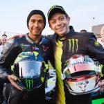 Valentino Rossi vs. Lewis Hamilton. The Ride Swap 7
