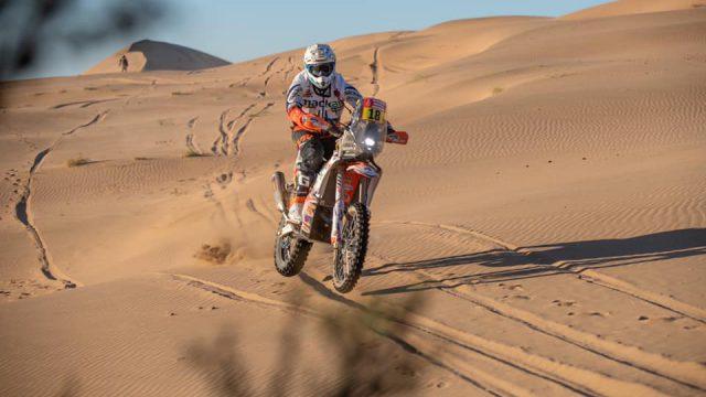 Dakar 2020: Early crash for Branch 1