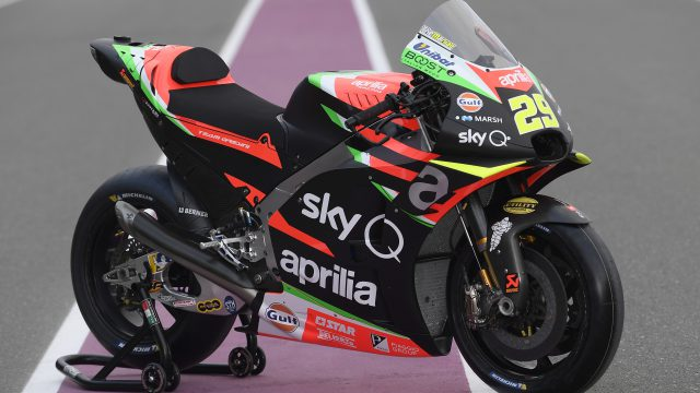 Aprilia MotoGP Gulf 18
