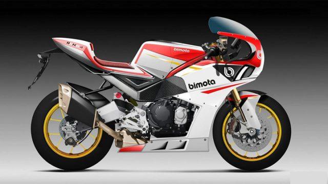 Pre-production Bimota KB4 unveils this summer 1