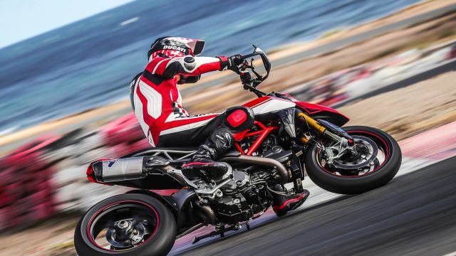 Ducati Hypermotard 950 SP Review gear patrol slide 10