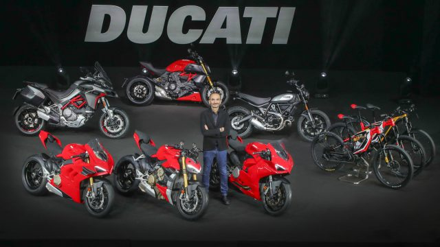 Ducati 2019 sales reach top with over 53,000 units 1