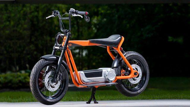 Harley Davidsn electric scooter header