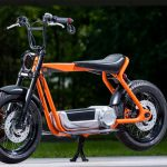 Harley-Davidson Electric Scooter heading for production. Here are the design sketches 12