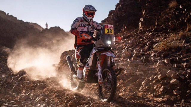 Ross Branch sorprende y se queda con la segunda etapa del Dakar 2020