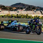 Valentino Rossi vs. Lewis Hamilton. The Ride Swap 10