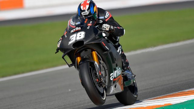 bradley smith valencia test motogp 2018