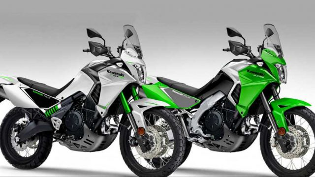 Kawasaki KLX 700 could join the adventure game. Would you buy it? 1
