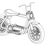 Harley-Davidson Electric Scooter heading for production. Here are the design sketches 8