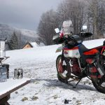 This guy is riding the Extreme Siberia in freezing winter. On a 30 yo motorcycle 2