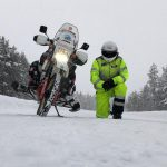 This guy is riding the Extreme Siberia in freezing winter. On a 30 yo motorcycle 8