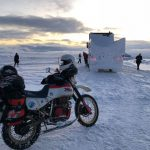 This guy is riding the Extreme Siberia in freezing winter. On a 30 yo motorcycle 4