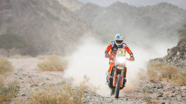 Dakar 2020, Day Five: Sunderland out of the Dakar 1