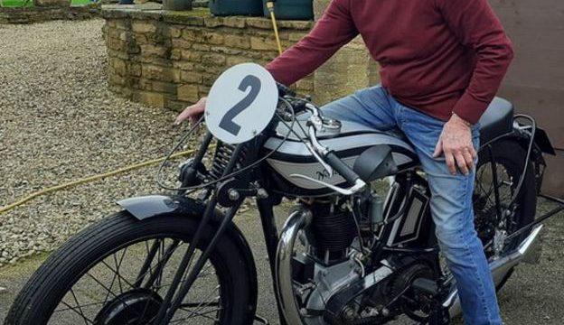 This guy is selling his 1930 Norton CSI vintage motorcycle to save a Church 1