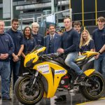 Honda Fireblade-based electric project unveiled by students 5