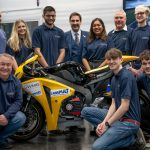 Honda Fireblade-based electric project unveiled by students 4