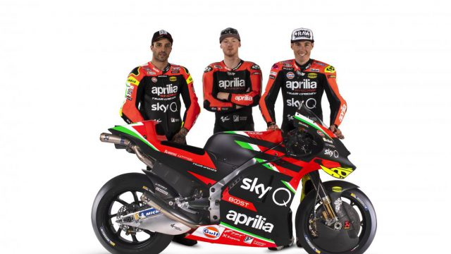 2020 Aprilia RS-GP MotoGP unveiled. 280 hp claimed 1