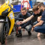 Honda Fireblade-based electric project unveiled by students 2